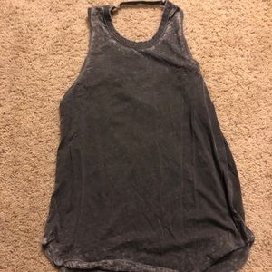 Chaser open back loose tank top